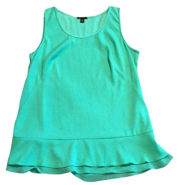 Ann Taylor Top green Image 0