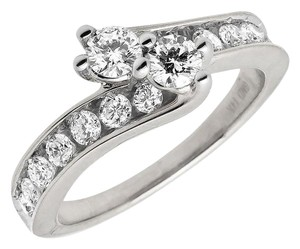 Jewelry Unlimited Forever Us 2 Stone Channel Diamonds Engagement Ring 1.02ct