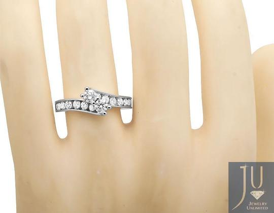 Jewelry Unlimited Forever Us 2 Stone Channel Diamonds Engagement Ring 1.02ct Image 1