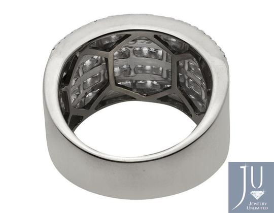 Jewelry Unlimited Ladies XL Multi Rows Genuine Diamond Engagement Ring Band 1.0ct Image 3