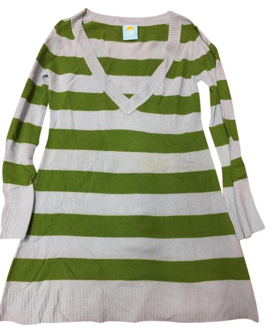 Preload https://img-static.tradesy.com/item/21463698/c-and-c-california-green-baby-blue-striped-cashmere-sweater-dress-tunic-size-8-m-0-1-650-650.jpg