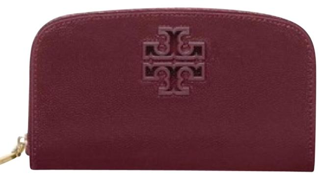 Item - Maroon T Double Curved Wallet