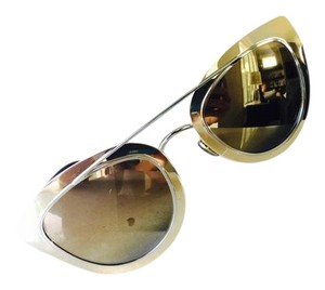 Christian Dior NEW Dior Chromic Sunglasses Gold Blue