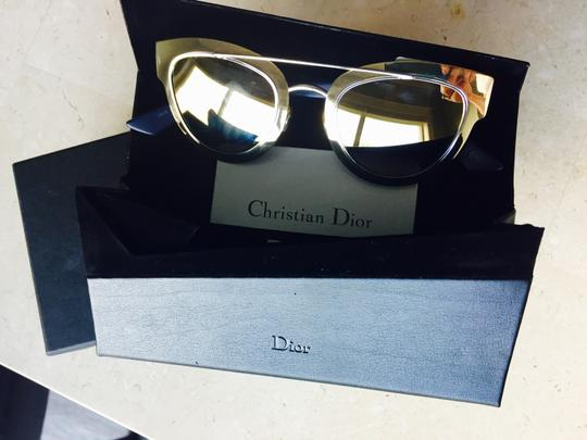 Christian Dior NEW Dior Chromic Sunglasses Gold Blue Image 1