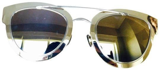 Christian Dior NEW Dior Chromic Sunglasses Gold Blue Image 2