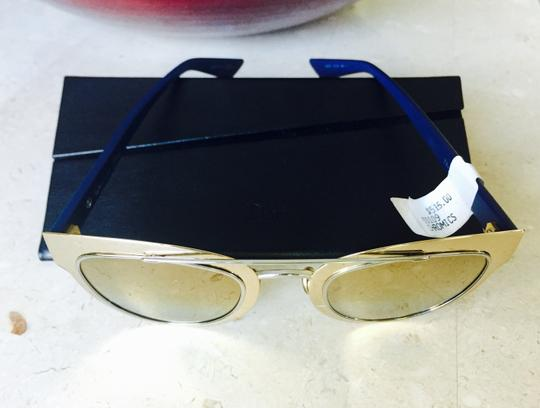 Christian Dior NEW Dior Chromic Sunglasses Gold Blue Image 3