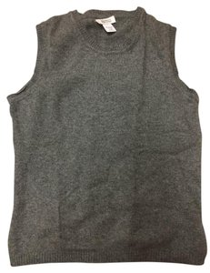 Barneys New York Vest Sweater Cashmere Barneysnewyork Top Grey