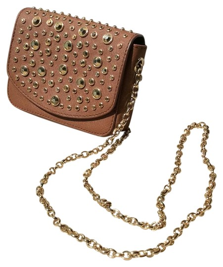 Juicy Couture Clutch Sparkle Gold Cross Body Bag Image 0