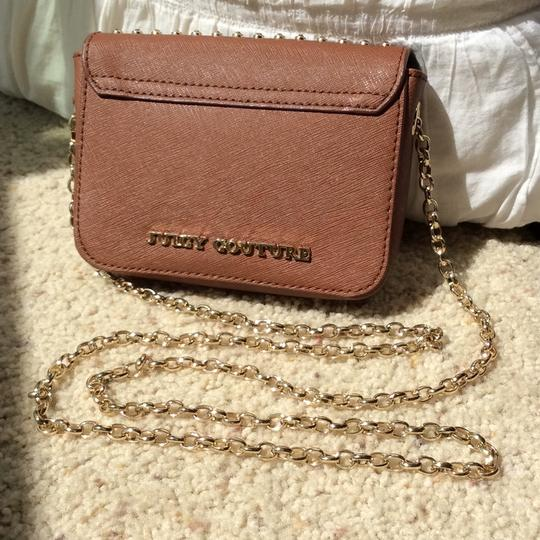 Juicy Couture Clutch Sparkle Gold Cross Body Bag Image 2