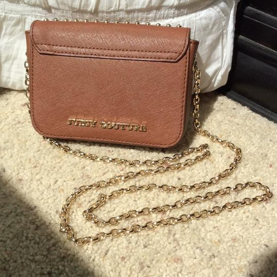 Juicy Couture Clutch Sparkle Gold Cross Body Bag Image 3