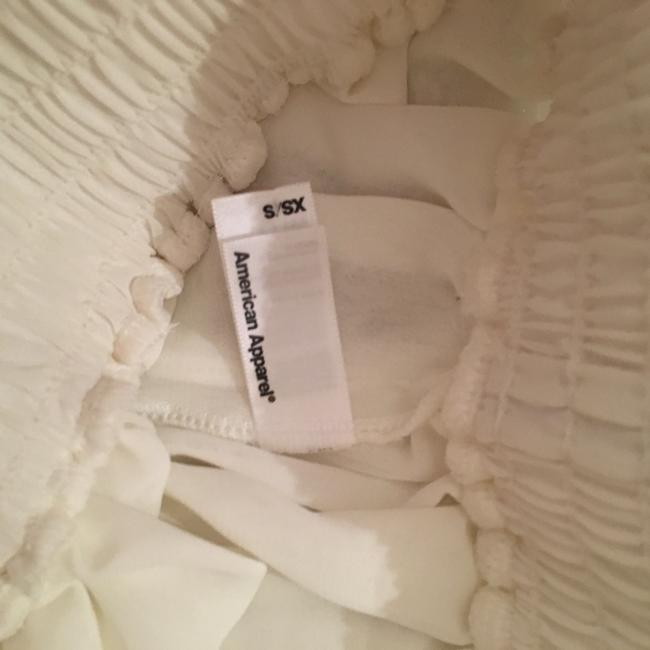 American Apparel Mini Skirt cream offwhite white Image 2