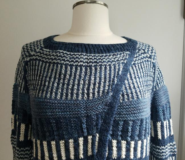 KNITBRARY Hand Knit Limited Edition Alpaca Cotton Cardigan Image 2