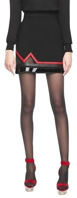 Preload https://img-static.tradesy.com/item/21464576/versace-new-zig-zag-with-leather-and-mesh-as-seen-on-selena-miniskirt-size-6-s-28-0-1-650-650.jpg