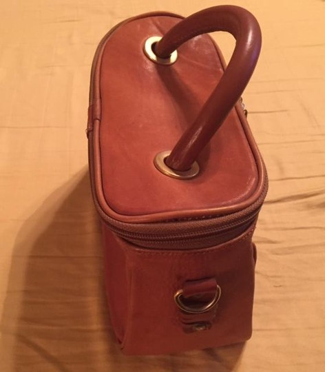 Handmade leather Satchel in Tan Image 2