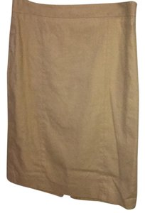 Ann Taylor Tan Suit Skirt
