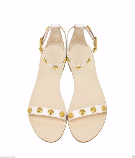 Versace Leather Sandals Image 1