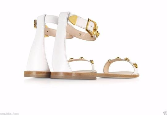 Versace Leather Sandals Image 2