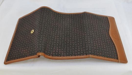 Ted Lapidus ntage TED LAPIDUS Brown Leather Wallet - NEW Image 2