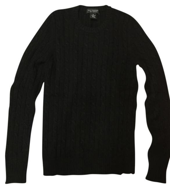 Preload https://img-static.tradesy.com/item/21465213/black-cashmere-cable-knit-sweaterpullover-size-8-m-0-1-650-650.jpg