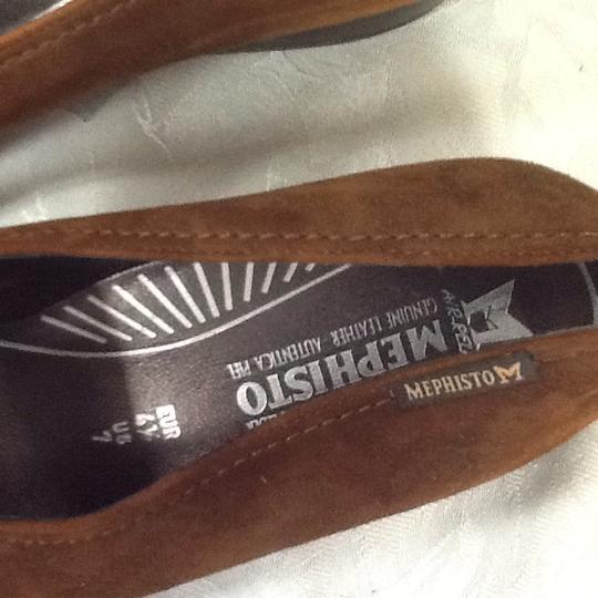 Mephisto Brown Flats Image 7