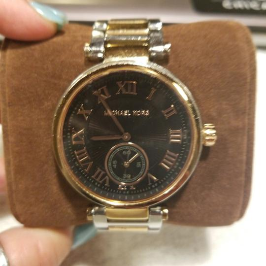Michael Kors Rose Gold and Silver