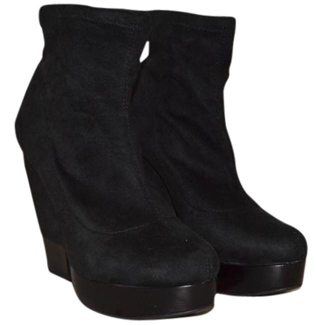 BCBGeneration Black Suede Kimba Boots/Booties Size US 9 Regular (M, B) BCBGeneration Black Suede Kimba Boots/Booties Size US 9 Regular (M, B) Image 1