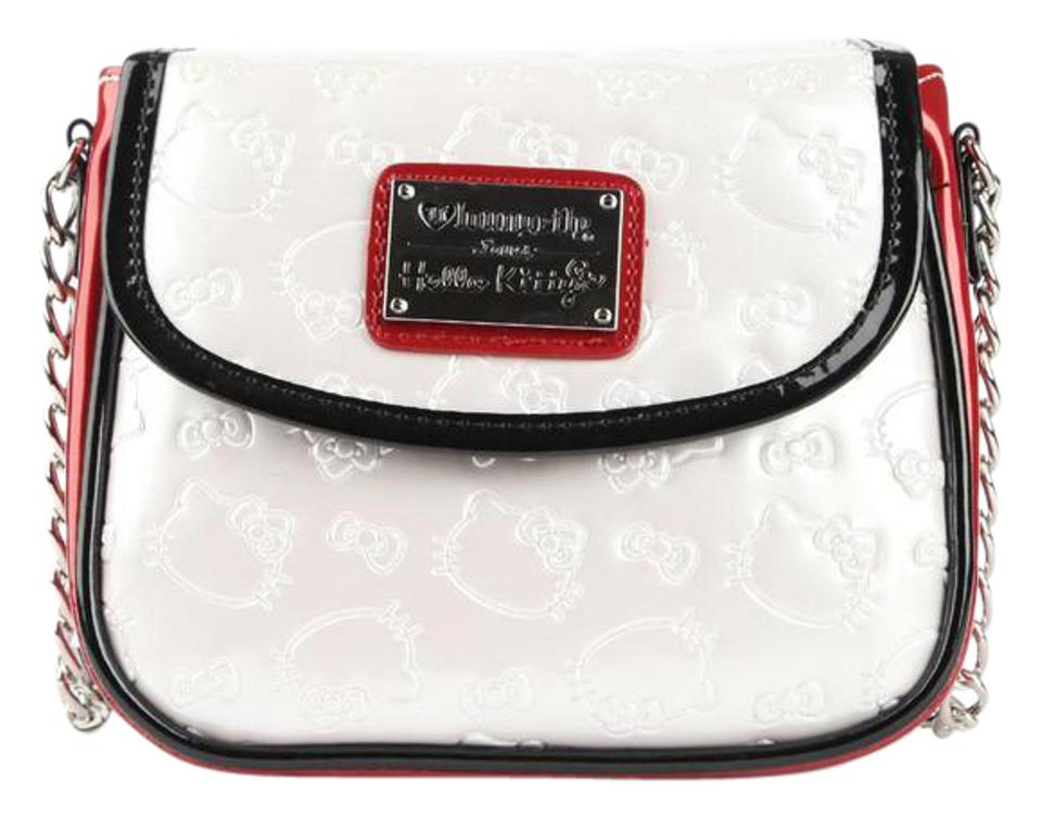 2c98d2655 Sanrio Hello Kitty Loungefly White/Black Shoulder Limited-edition ...