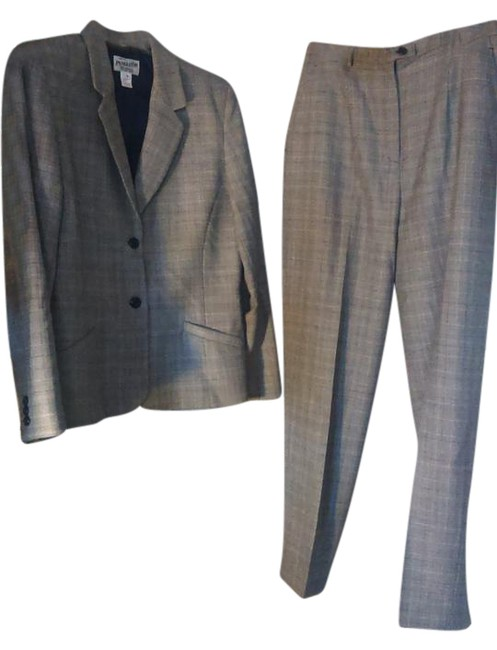 Item - Grey Professional Pant Suit Size 10 (M)