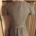 Juicy Couture Black/White/Gold Nwot-sz & Striped /Gold Logo Shoulder Button Sleeved Mid-length Short Casual Dress Size 4 (S) Juicy Couture Black/White/Gold Nwot-sz & Striped /Gold Logo Shoulder Button Sleeved Mid-length Short Casual Dress Size 4 (S) Image 12