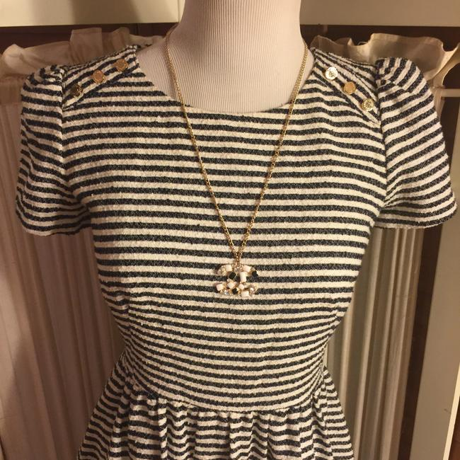 Juicy Couture short dress Black/White/Gold on Tradesy Image 7