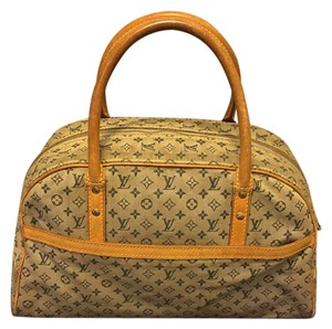 Louis Vuitton Satchel in blue Beige