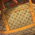 Louis Vuitton Satchel in blue Beige Image 1