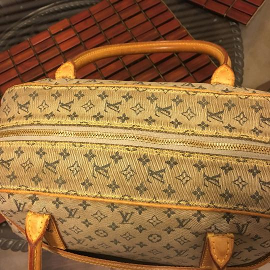 Louis Vuitton Satchel in blue Beige Image 2