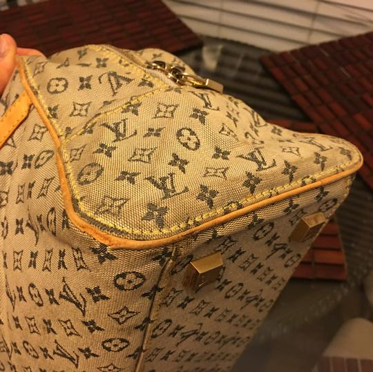 Louis Vuitton Satchel in blue Beige Image 5