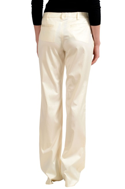 Just Cavalli Trouser Pants Off White Image 1