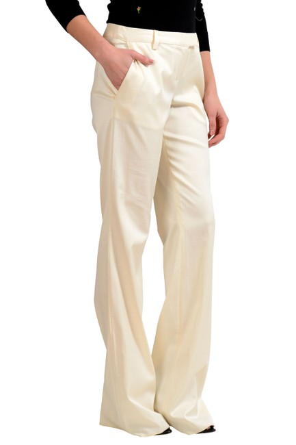Just Cavalli Trouser Pants Off White Image 2