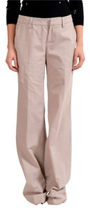 Just Cavalli Straight Pants Beige