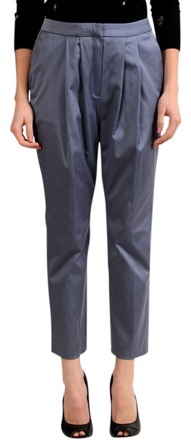 Just Cavalli Gray Women's Pleated Casual Pants Size 4 (S, 27) Just Cavalli Gray Women's Pleated Casual Pants Size 4 (S, 27) Image 1
