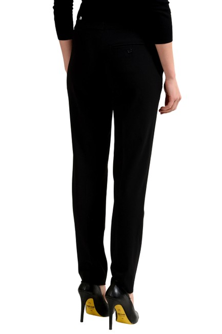 Just Cavalli Straight Pants Black Image 1