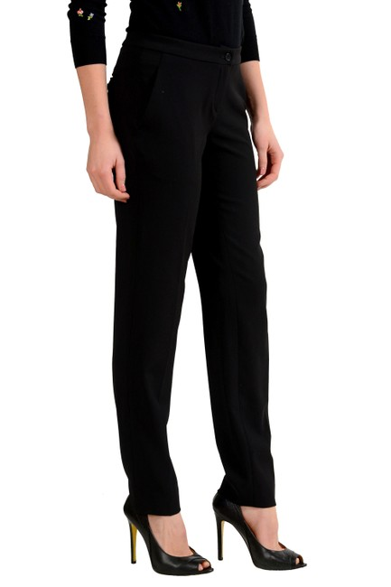 Just Cavalli Straight Pants Black Image 2