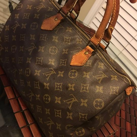 Louis Vuitton Satchel in Monogram Image 2