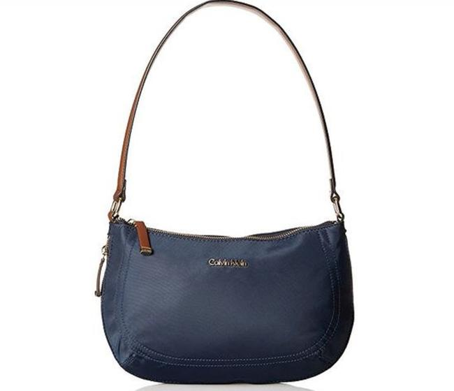Calvin Klein Florence - Navy Nylon Shoulder Bag Calvin Klein Florence - Navy Nylon Shoulder Bag Image 1
