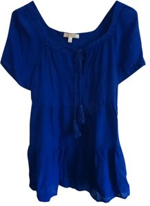 Spense Top royal blue