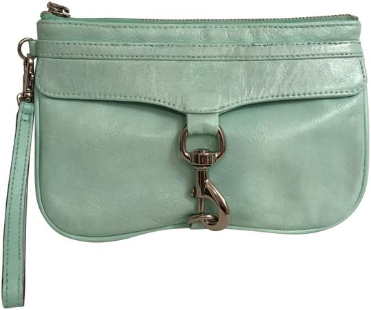 Preload https://img-static.tradesy.com/item/21467137/rebecca-minkoff-mac-clutch-large-green-silver-leather-wristlet-0-1-540-540.jpg