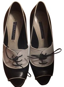 Ralph Lauren Collection black and white Pumps