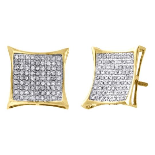 Preload https://item4.tradesy.com/images/10k-yellow-gold-real-diamond-pave-studs-1340mm-kite-earrings-050-ct-2146728-0-0.jpg?width=440&height=440