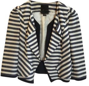 McGinn navy off white striped Jacket