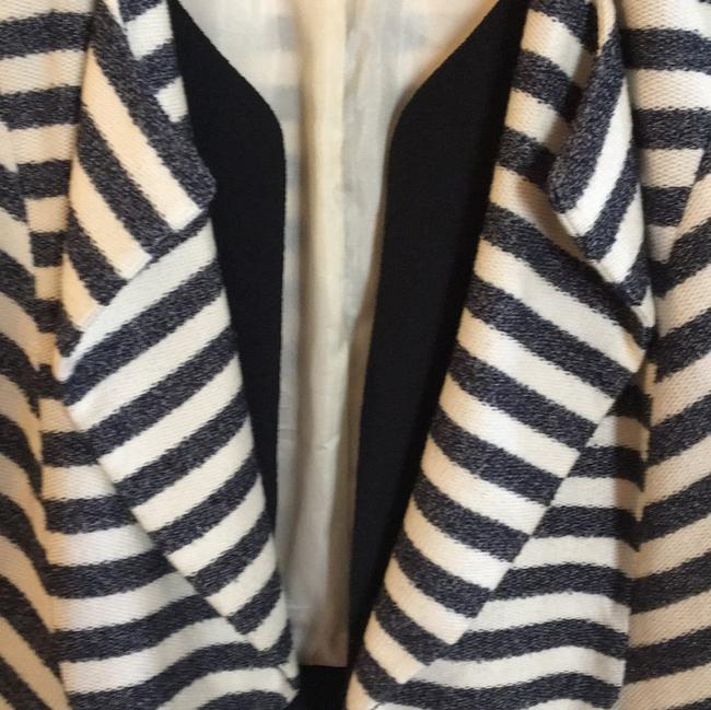 McGinn navy off white striped Jacket Image 10