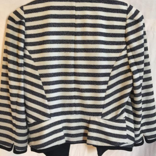 McGinn navy off white striped Jacket Image 11