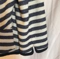McGinn navy off white striped Jacket Image 3